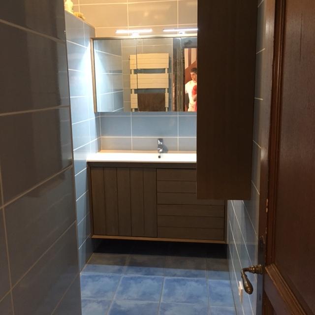 Cr ation et r novation de salles de bains salon de provence aix en provence lancon bouches du - Reglette douche italienne ...